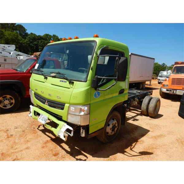 2012 MITSUBISHI FUSO CANTER Cab and Chassis Truck