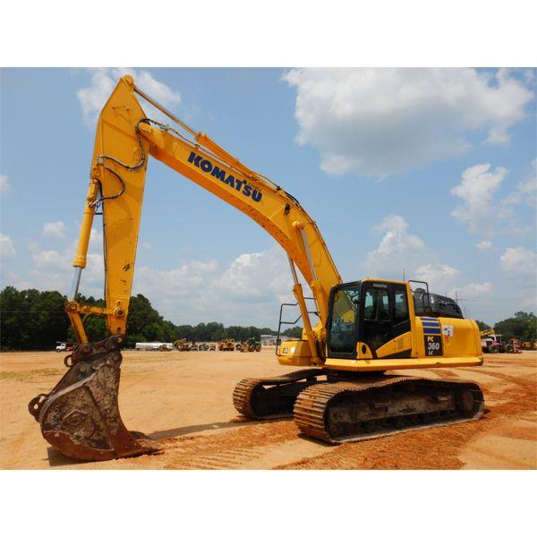 2019 KOMATSU PC360LC-11 Excavator