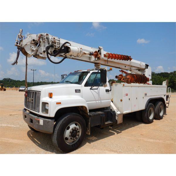 1999 GMC C7500 Digger Derick Truck