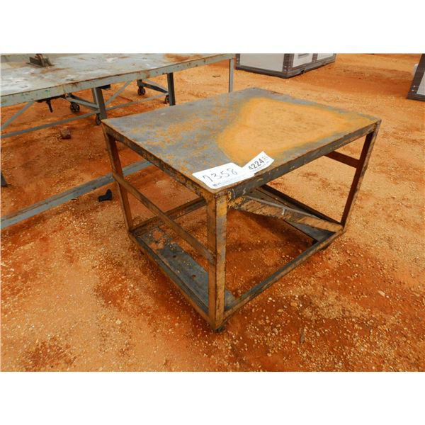 """33"""" x 42"""" ROLLABLE METAL TABLE (B9)"""