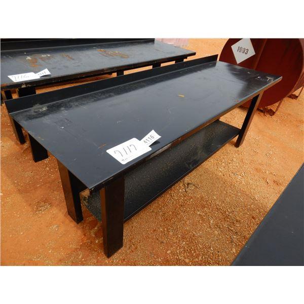 "30"" X 90"" STEEL WORK TABLE (B7)"