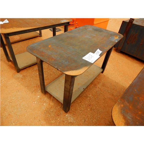 "29"" X 57"" STEEL WORK TABLE (B7)"