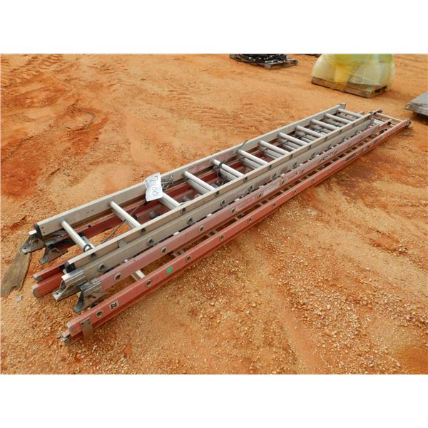 (3) EXTENSION LADDERS (B9)