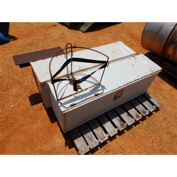 (2) METAL TOOL BOXES (A1)