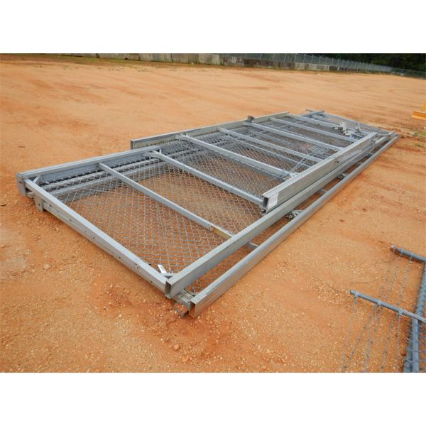 (3) CHAIN LINK FENCE GATES
