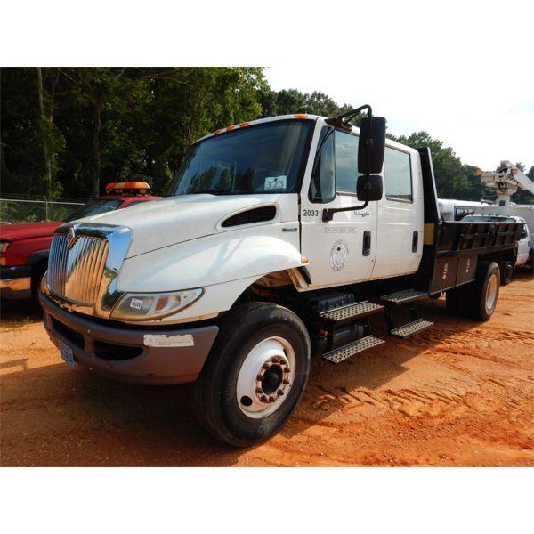 2008 INTERNATIONAL 4300 DURASTAR Flatbed Dump Truck