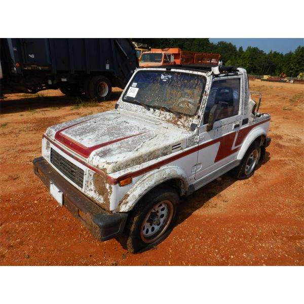 1988 SUZUKI SAMURAI SUV