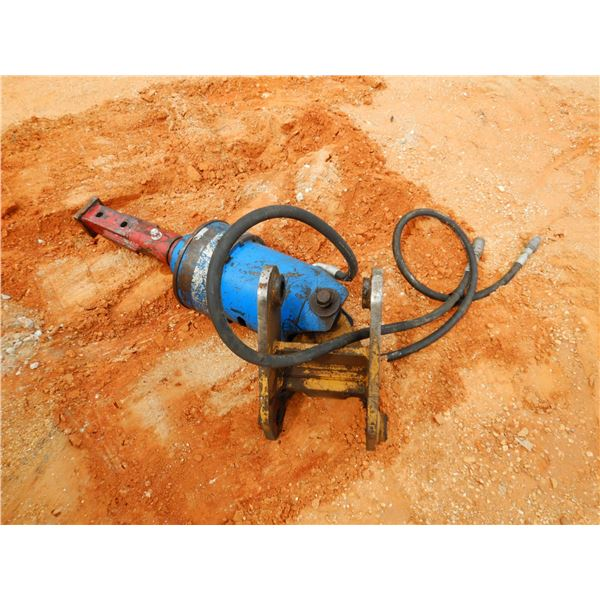 HYD AUGER, FITS BACKHOE (Utility owned)