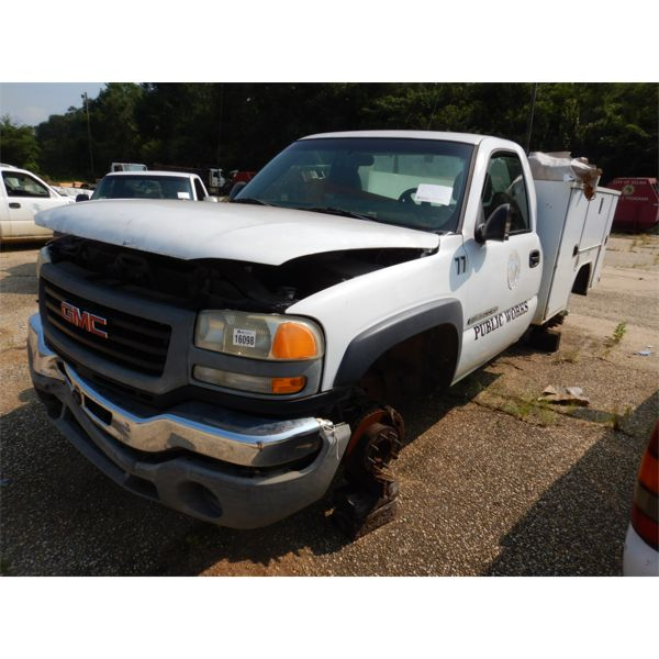 2003 GMC 2500 HD Service / Mechanic Truck
