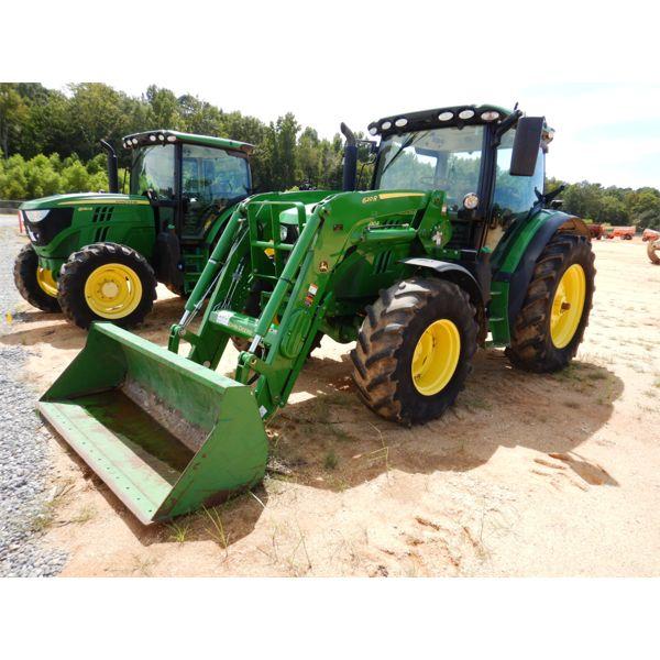 2016 JOHN DEERE 6130R Farm Tractor