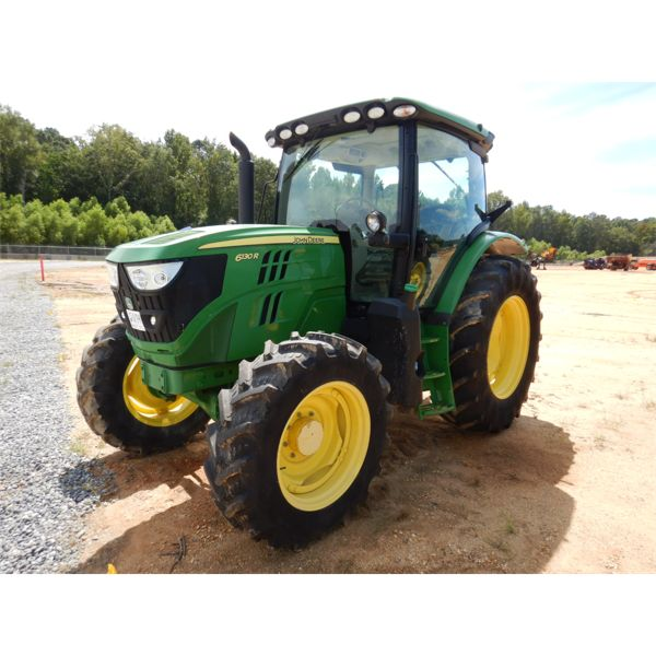 2015 JOHN DEERE 6130R Farm Tractor