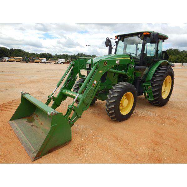 2014 JOHN DEERE 6115D Farm Tractor