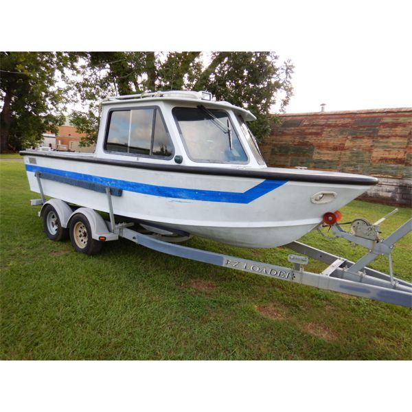SEA ARK 18' ALUMINUM Boat
