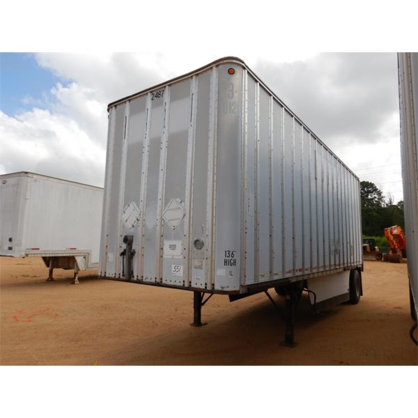 1986 ROAD SYSTEMS CFR28102 Dry Van Trailer
