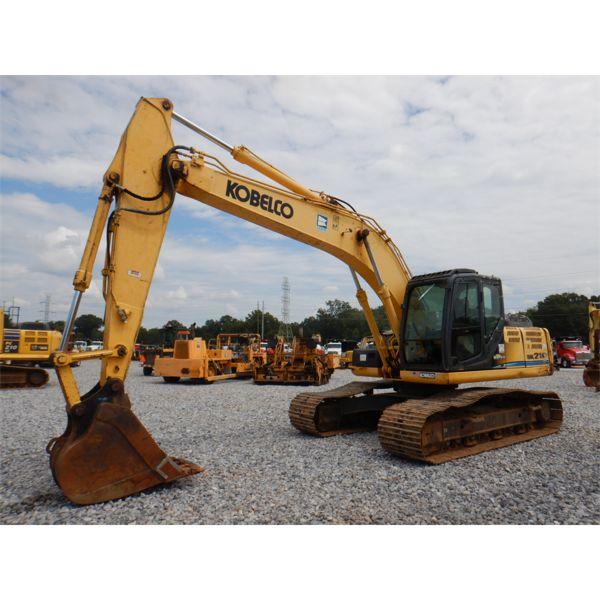 2012 KOBELCO SK210LC-9 Excavator