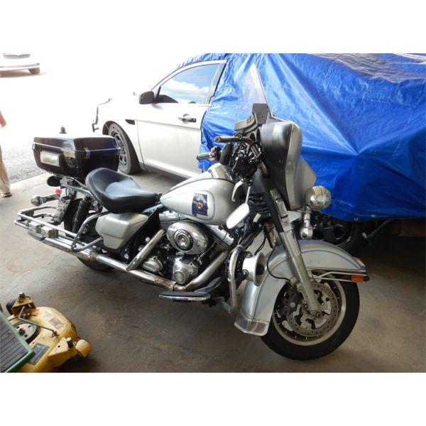 2008 HARLEY DAVIDSON POLICE MOTORCYCLE Automobile