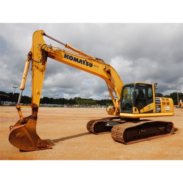2016 KOMATSU PC210LCI-10 Excavator