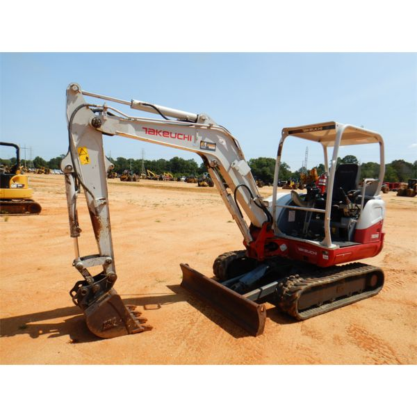 2014 TAKEUCHI TB240 Excavator - Mini