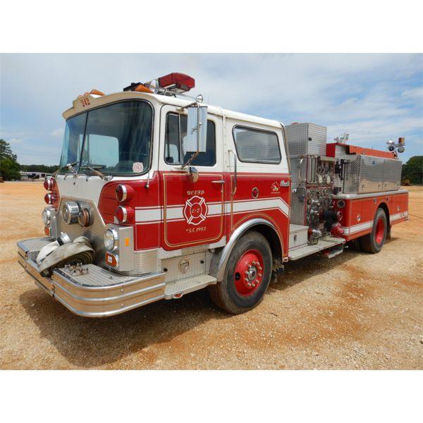 1983 MACK MC611F FIRE TRUCK Emergency Vehicle