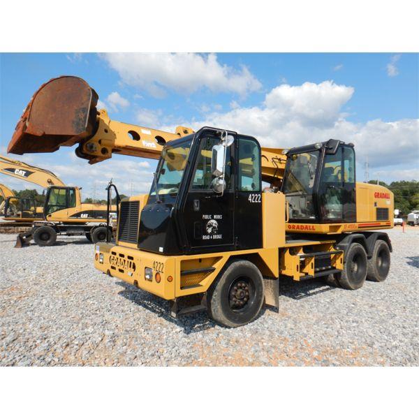 2015 GRADALL XL4100IV Excavator - Wheel