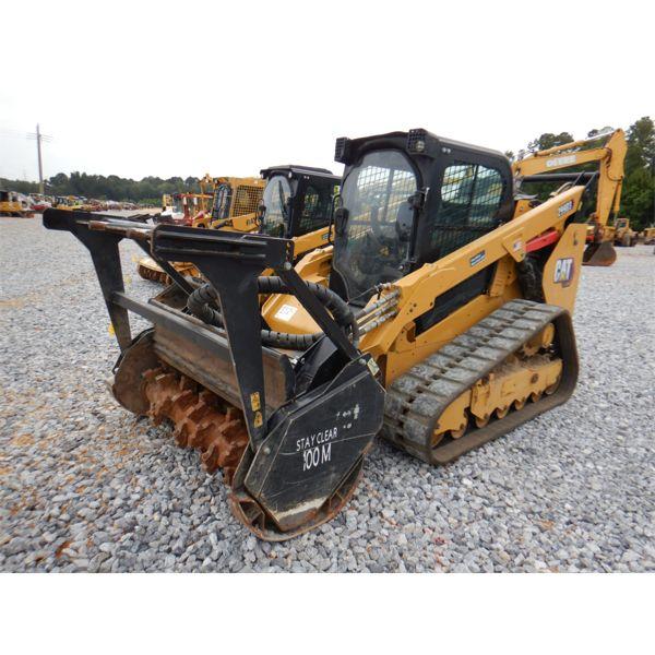 2020 CAT 299D3 Skid Steer Loader - Mulcher