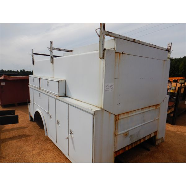 13' TRUCK MAINTENANCE BED ENCLOSED (A1)