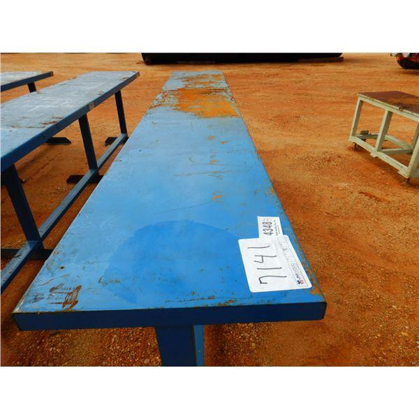 2' X 12' METAL TABLE (B7)