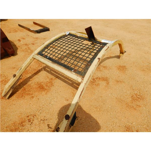 SAFETY SCREEN & ROLL BAR (FITS CRALWER TRACTOR) (B6)