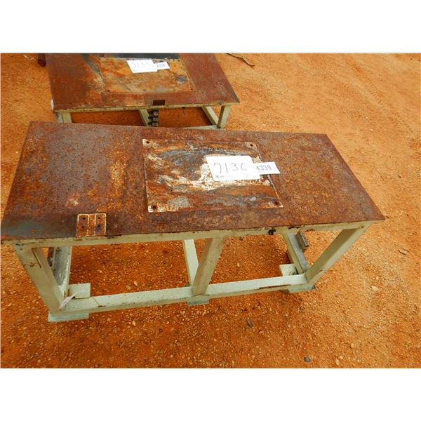 """20"""" X 47"""" METAL SUPPORT STAND/TABLE (B7)"""