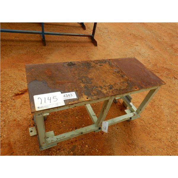 """20"""" X 47"""" METAL SUPPORT STAND (B7)"""