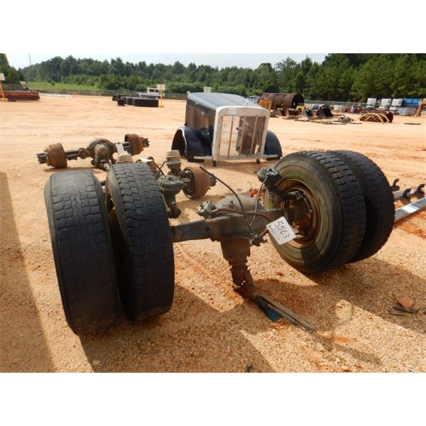 TRUCK/TRACTOR DRIVE AXLE W/DUEL TIRES & RIMS (A1)