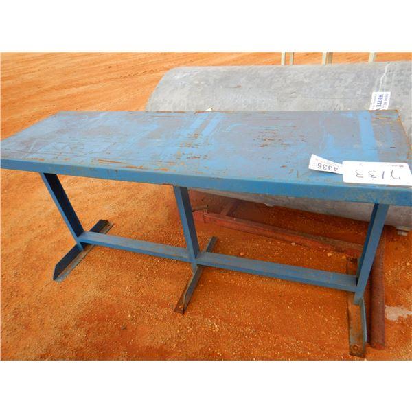 2' X 6' METAL TABLE (B7)