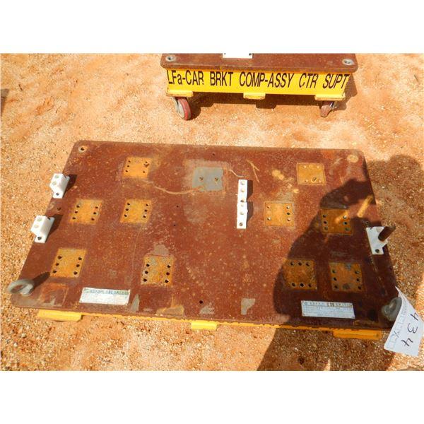 "27"" X 47"" ROLL AROUND METAL CART (B9)"