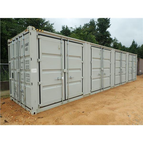 40' STEEL 5 DOOR SHIPPING CONTAINERS (B7)