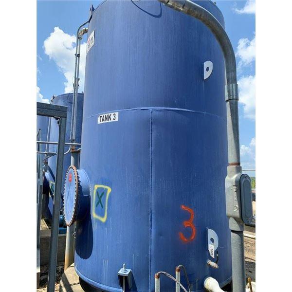 2012 HALL TANK CO 3000 GAL 50W OIL TANK