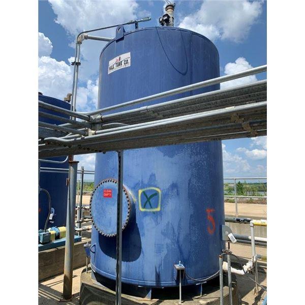 2012 HALL TANK CO 3000 GAL 30W OIL TANK