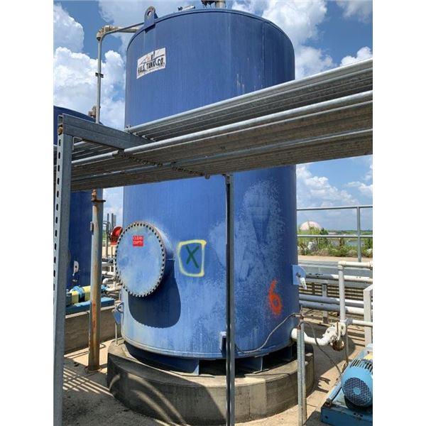 2012 HALL TANK CO 3000 GAL 60W OIL TANK