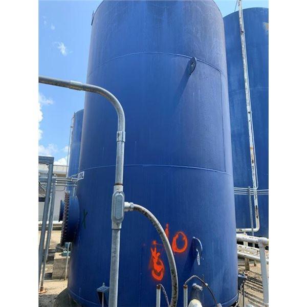2012 HALL TANK CO 5000 GAL 15W40 OIL TANK