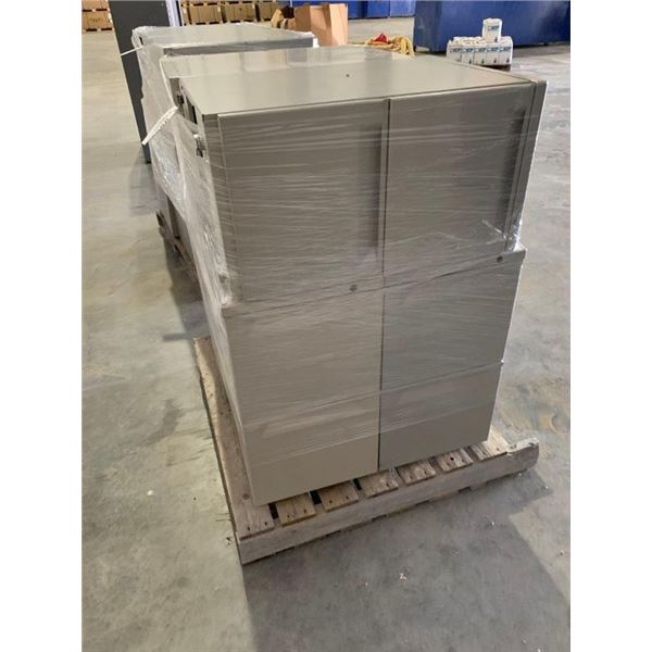 (6) METAL CABINETS WITH DRAWERS  ~Selling Offsite: Located in De Kalb, MS~