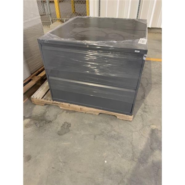 (2) METAL CABINETS W/2 DRAWERS  ~Selling Offsite: Located in De Kalb, MS~