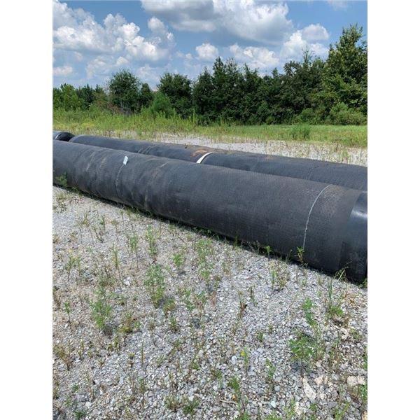 (3) ROLLS LLDPE SUPER GRIPNET LINER 50 MIL, 23' WIDE 300' LONG ~Selling Offsite: Located in De Kalb,