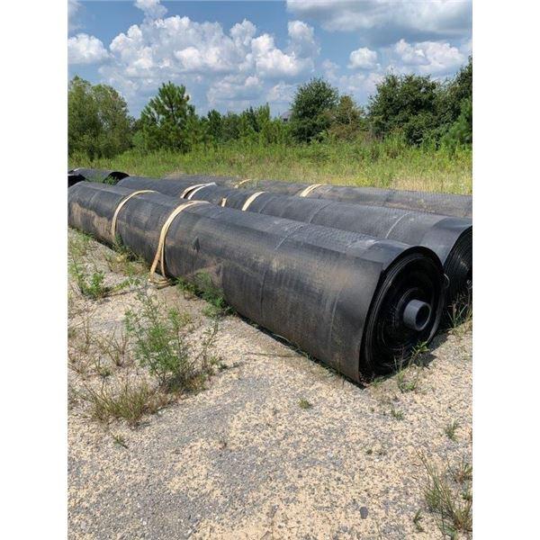 (3) ROLLS LLPDE SUPER GRIPNET LINER 50 MIL, 23' WIDE, 300' LONG  ~Selling Offsite: Located in De Kal