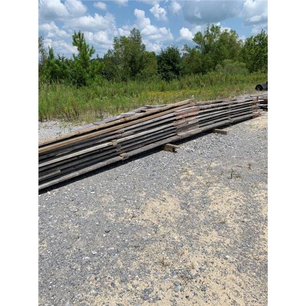 WOOD RAFTERS/TIN/MISC WOOD ~Selling Offsite: Located in De Kalb, MS~