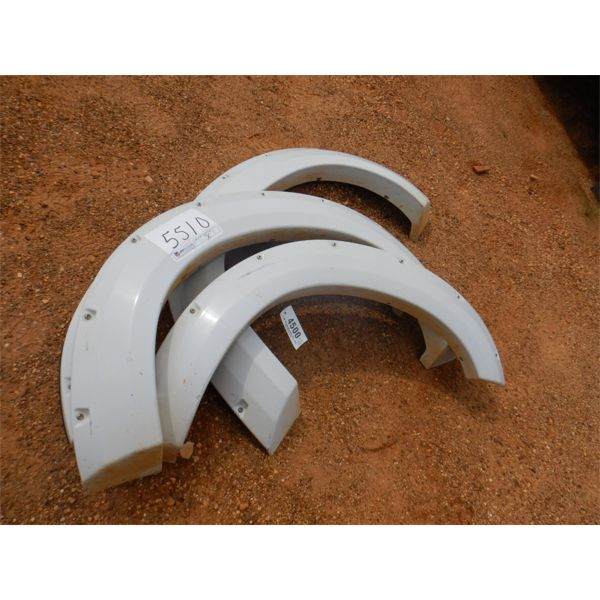 (4) FENDER EXTENSION, FIT FORD F250 (A-1)