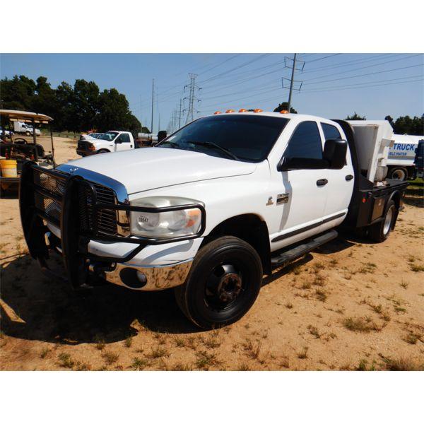 2007 DODGE RAM 2500 HEAVY DUTY Flatbed Truck
