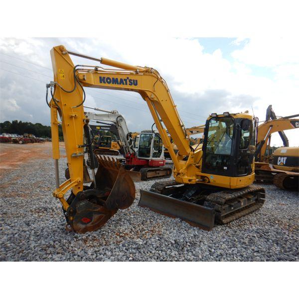 2019 KOMATSU PC88MR-10 Excavator