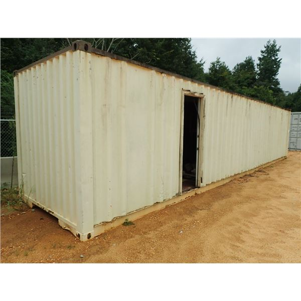 40' STEEL SHIPPING CONTAINER (B7)