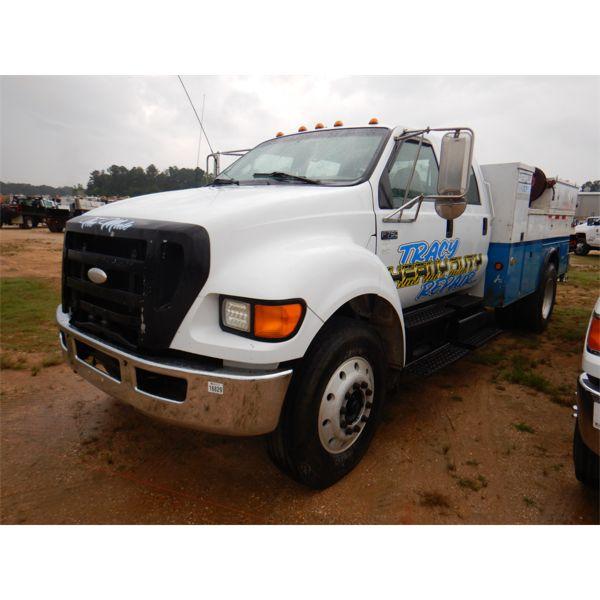 2007 FORD F750 Service / Mechanic Truck