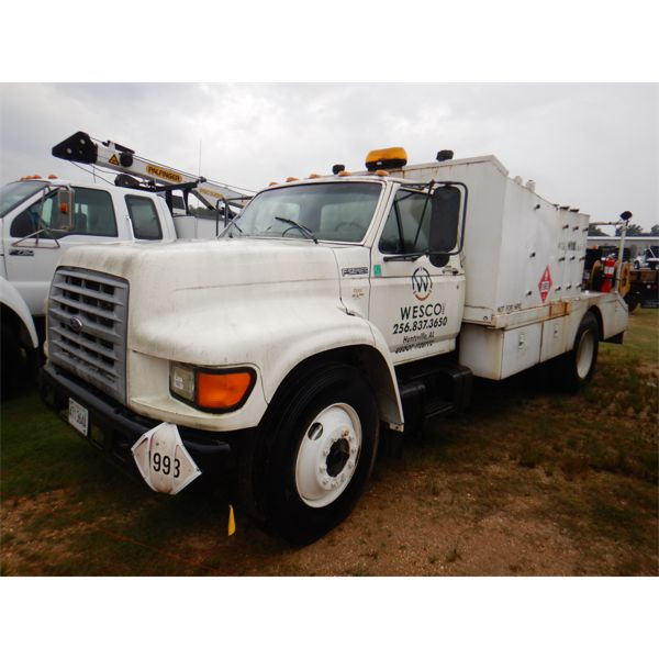 1998 FORD F-SERIES Fuel / Lube Truck