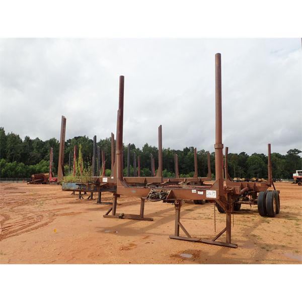 HOMEMADE POLE Log Trailer